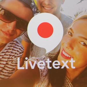 Yahoo! lanza Livetext, una aplicación que permite enviar mensajes con vídeo, pero sin sonido