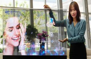 Pantallas transparentes y de espejo: última novedad de Samsung