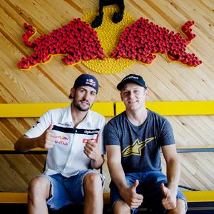 Primera toma de contacto de Torres y Melero en el Red Bull X Fighters