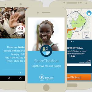 """""""Share The Meal"""", la app que aspira a mantener a raya el hambre en el mundo"""