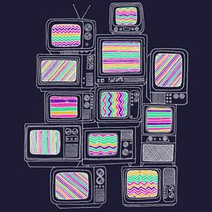 television tele tv