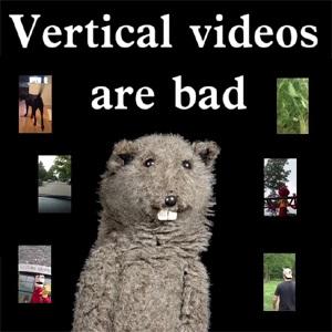 vertical video vídeos verticales