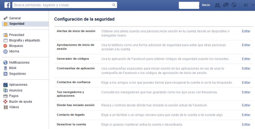 8 pasos para tener una cuenta de Facebook infalibe a prueba de estafas y ladrones
