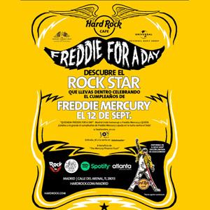 Hard Rock Cafe Madrid celebra Freddie For A Day