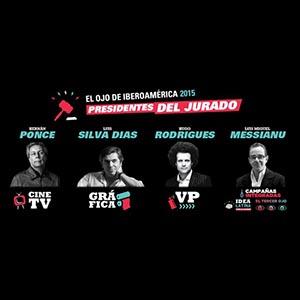 El Ojo anuncia los primeros Presidentes de su Jurado 2015: Ponce, Silva Dias, Rodrigues y Messianu.