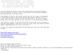 Se acabó el tiempo: destapan los secretos de más de 37 millones de usuarios de Ashley Madison