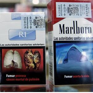 Las advertencias sobre los efectos nocivos del tabaco ocuparán el 65% del espacio de la cajetilla