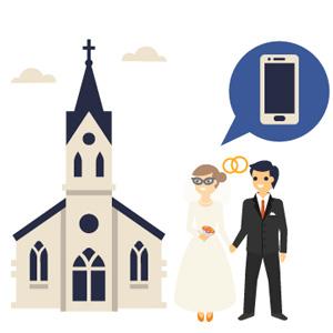 En la ducha, en un funeral o en su propia boda: cualquier lugar es bueno para usar Facebook