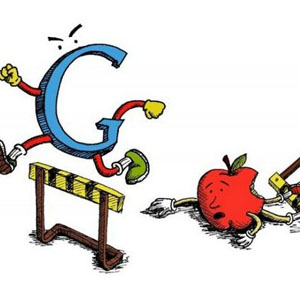 Google desafía a Apple saltándose el bloqueo de anuncios de iOS 9