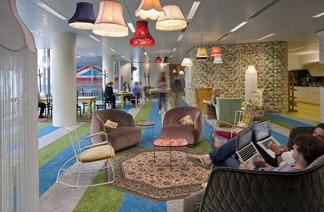 Estas son las 8 oficinas de google m s originales y for Oficinas google barcelona