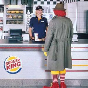 mcdonald's burger king mcdonalds