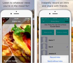 Nace Meep, la aplicación que lee en voz alta las noticias que más le interesan