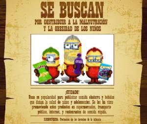 México: los Minions, en el punto de mira por promocionar productos poco saludables