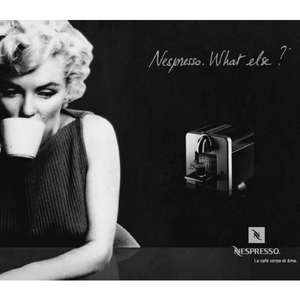 nespresso marilyn