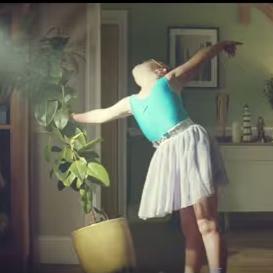 Una pequeña bailarina