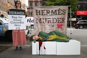 PETA, nuevo e inesperado accionista de Hermès