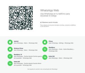 La versión web de WhatsApp aterriza para iPhone