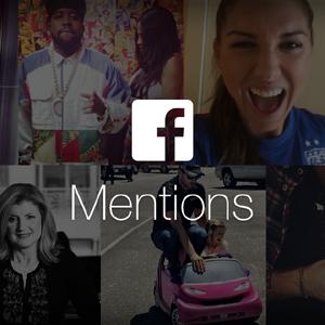 Facebook mejora sus aplicaciones Mentions y Live para ganar en inmediatez y cercanía
