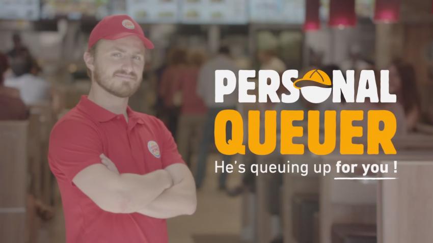 No más colas en el Burger King con el nuevo servicio