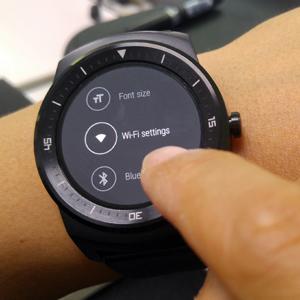 La última actualización de Android Wear proporciona conectividad wi-fi al LG G Watch R