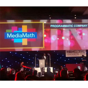 MediaMath programmatic company of the year 2015