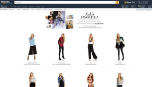 Amazon se pone de tiros largos para promocionar su división de moda en Europa