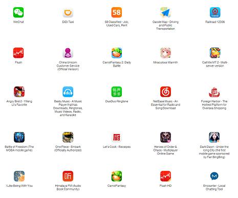 apps affectadas pq