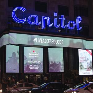 FCB convierte para Heineken el cine Capitol de Madrid en el primer escenario del festival DCODE
