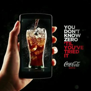 Coca-Cola Zero invita a los millennials a