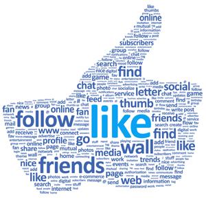 facebook me gusta like redes sociales