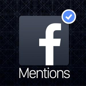 Facebook Mentions: la aplicación secreta (hasta ahora) de las celebrities