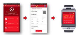 Primera campaña de publicidad en smartwatches en España de la mano de Iberia