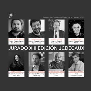 JCDecaux presenta para su premio un jurado formado por profesionales de élite