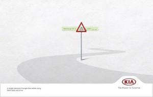 Un instante puede cambiarlo todo: KIA quiere concienciar sobre el uso de WhatsApp al volante