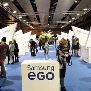 El Showroom Samsung EGO en MBFWM une a amantes de moda y tecnología en la próxima edición de la pasarela madrileña