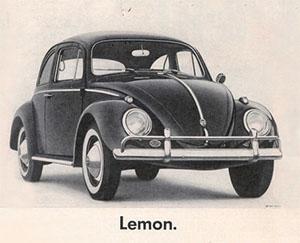 volkswagen lemon (bien)