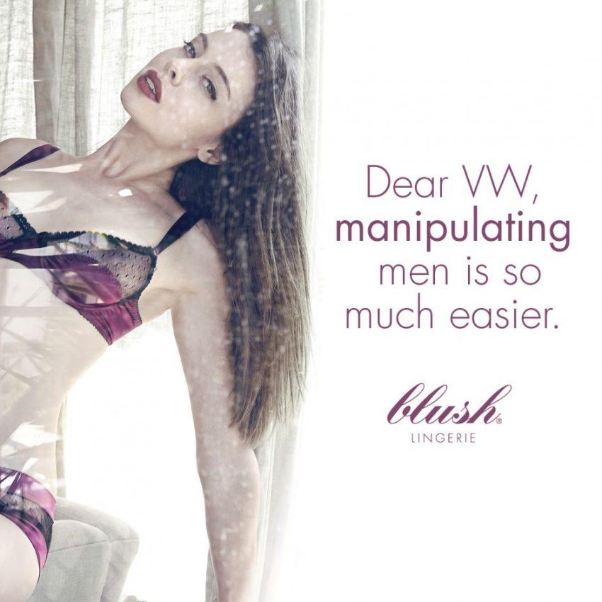 Una marca de lencería hace sangre en un anuncio del #dieselgate de Volkswagen