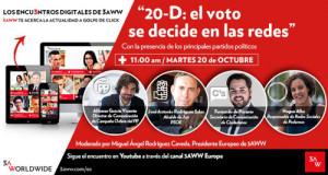 PP, PSOE, C's y Podemos debaten sobre su estrategia en redes sociales