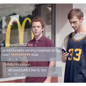 Los fans de los desayunos de McDonald's se convierten en protagonistas en su última campaña