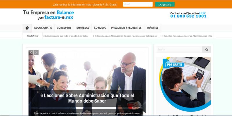 Blog Factura-e