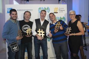 Diego Pons ganador del I Premio #BlogueroGold 2015 de American Express