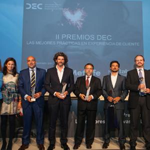 Metlife, Mutua Madrileña y Room Mate Hotels, grandes vencedores de los II Premios DEC