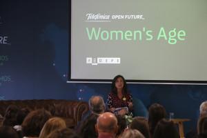 Telefónica Open Future_ y la Fedepe reúnen a 150 emprendedoras en la presentación de Women's Age