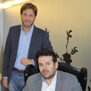 Joshua Novick y José Gabriel García