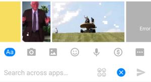 Facebook sube su apuesta por los GIFs: se podrán adjuntar en los chats y en Messenger