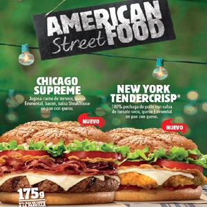 Burger King regresa a sus orígenes con la colección American Street Food