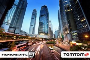 TomTom lanza su servicio de Tráfico en Hong Kong