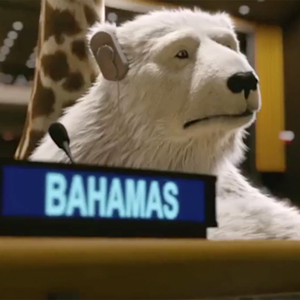 Animales y mucho humor en esta campaña global para apoyar los objetivos de la ONU