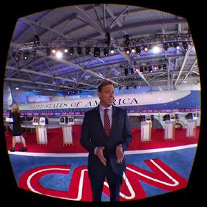 CNN transmitirá un debate político en realidad virtual