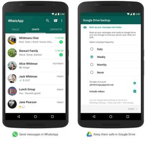 El tamaño de WhatsApp ya no será un problema en su smartphone: todo se podrá almacenar en Google Drive
